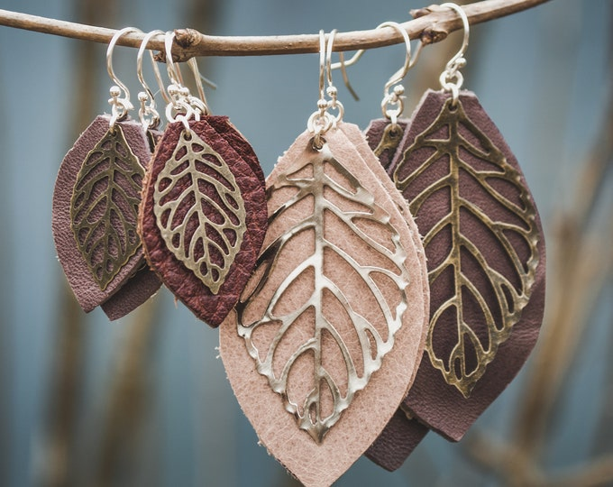 Featured listing image: Leaf Earrings
