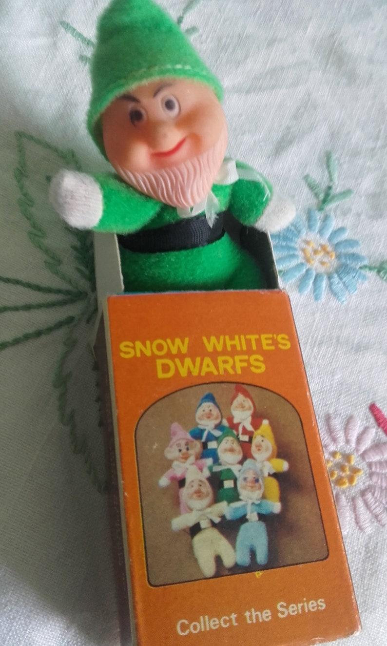 Snow White   the Seven Dwarfs GRUMPY Matchbox Doll Mini  7a4cf0b56cda