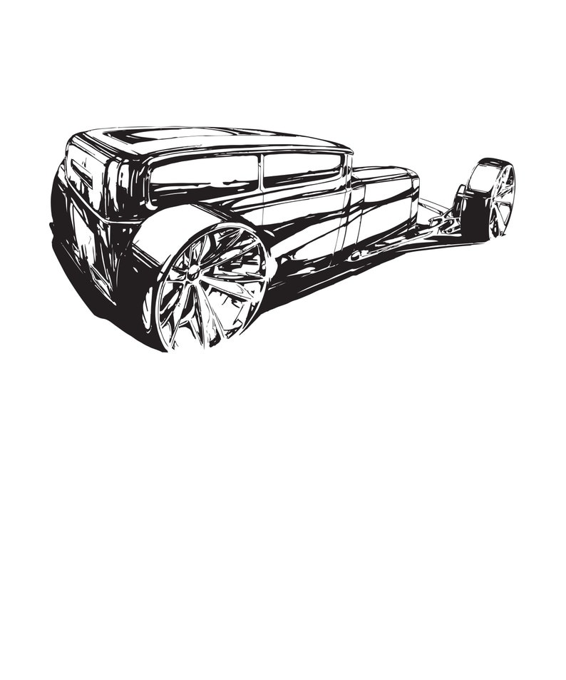 Rat Rod Hotrod Concept Car Art Hotrod Rat Rod Concept Car