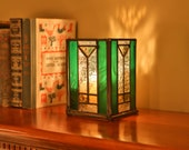 Frank Lloyd Wright Inspired 6 inch Centerpeice Candle Holder