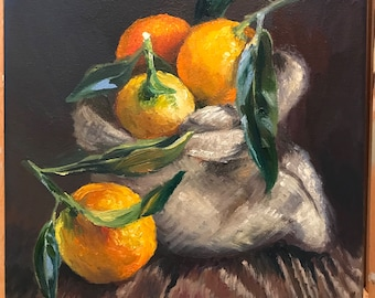 Clementines in a bag