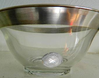 0571c5e4ccd MCM Pair Vintage Dorothy Thorpe Crystal Bowls
