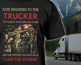 Truckers Wife Shirt Etsy