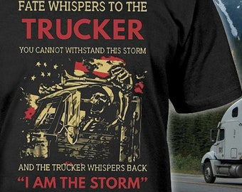 39f51aaca USA Truck Driver Shirt - Gift for Truck Drivers - Trucking Shirt - Truck  Driver Hoodie - Truckers Wife Shirt - Truckers Gifts - Up to 5XL!