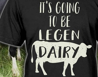 8f0876b000 Dairy Cow Tee - Dairy Farmer Shirt - Country Girl Gift - Dairy Cow Gift -  Dairy Farmer Hoodie - Cow Lover Gift - Sizes up to 5XL!