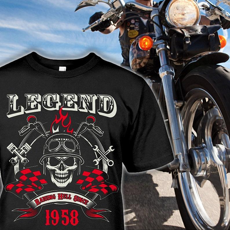 60 Geburtstag Shirt Motorrad Geschenke 60 Geburtstag Etsy