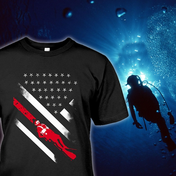Only Two Things Diving Open Water MENS T-SHIRT tee birthday gift scuba diving