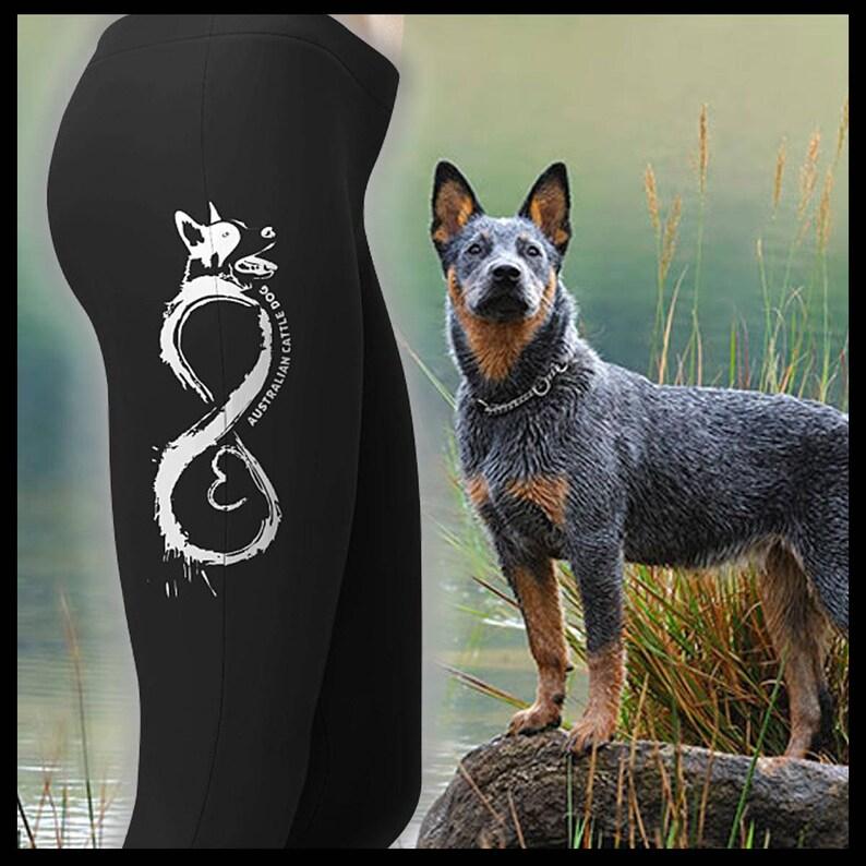 2f5083d8451ed6 Australian Cattle Dog Yoga Pants Dog Lover Leggings | Etsy