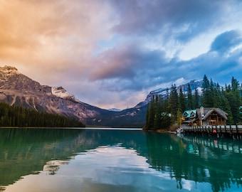 "Emerald Lake Magnet 2""x3.5""  Yoho National Park, British Columbia, Canada."