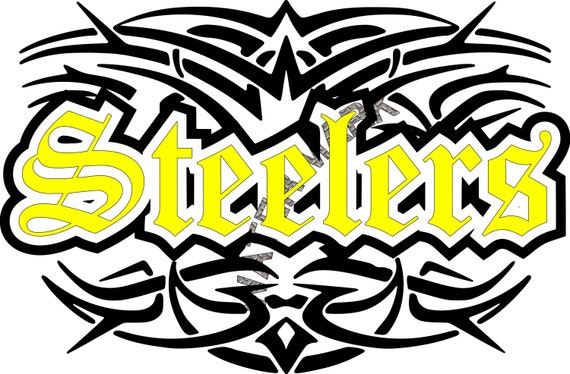 Pittsburgh Steelers Svg Png Datei Download Tattoo Tribel Etsy