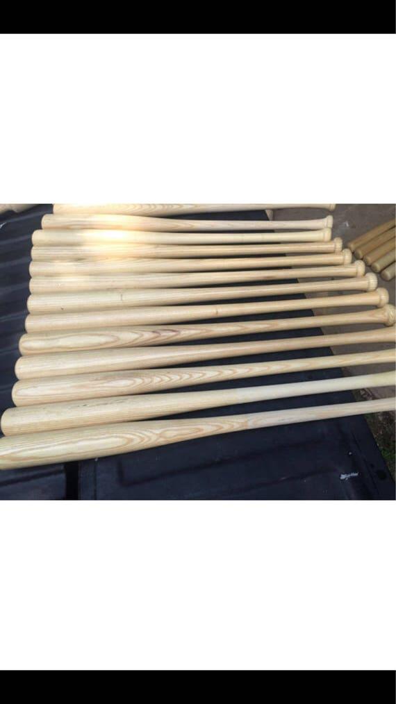 10 Wooden Blem Baseball Bats FREE SHIPPING!