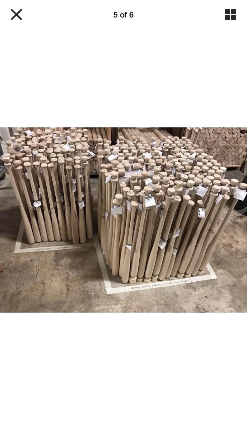 12 Wooden Baseball Bats Free Shipping