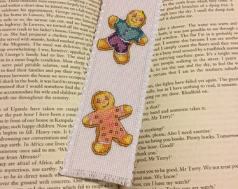 Bookmark - Gingerbread boy and girl
