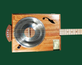 Cigar Box Resonator Guitar