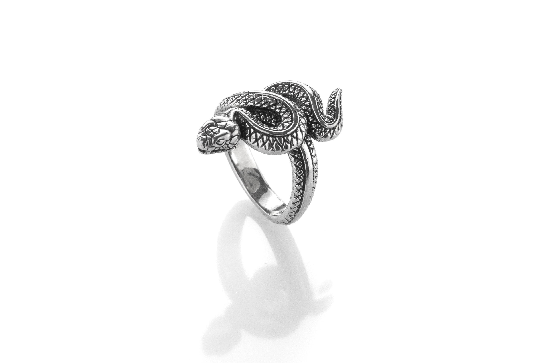 Snake Ring Snake sharm Serpent Ring Viper Ring For Her Cobra Ring Reptile  Ring Ring