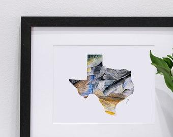Texas Fishing Pastel | Giclee Prints