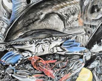 Cajun Seafood | Giclee Prints