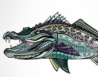 Gator Trout Decal