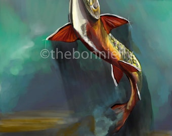 Brook Trout Rising | Giclee Print