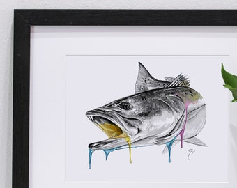 Speckled Trout Melt Print | Giclee Prints