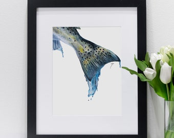 Speckled Trout Dripping | Giclee Prints