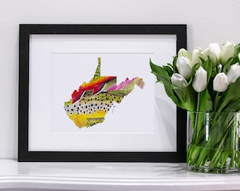 West Virginia Pastel | Giclee Prints