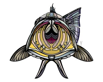Yellowmouth Speckled Trout Sticker