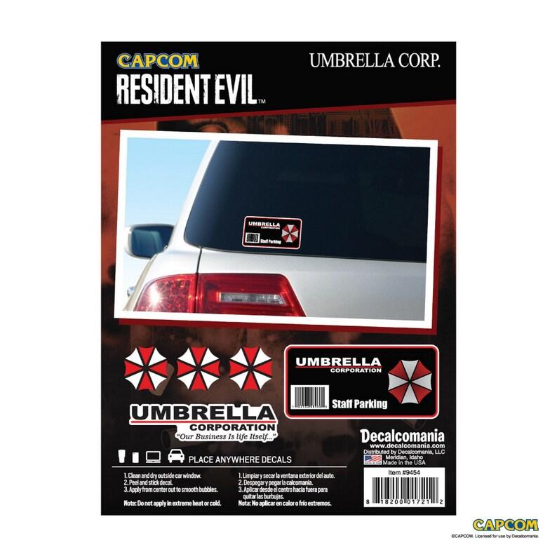 Resident Evil Umbrella Logo Decal Vinyl Truck Car Sticker