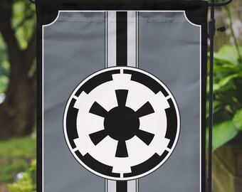 Star Wars Garden Flag | Galactic Empire | 12.5 x 18 in / 31.7 x 45.7 cm
