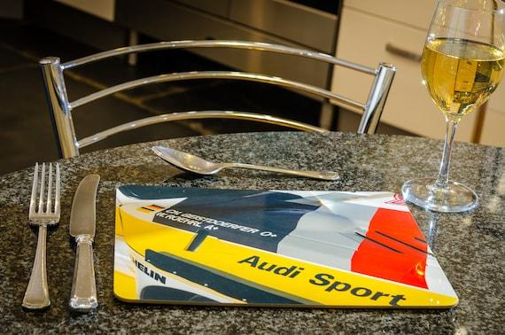 Audi S1 Quattro, Group B Rally Car, Dining Table Mat, 260mmx 200mm, High Gloss Finish
