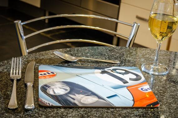 Porsche 917K, Le Mans 24h, Dining Table Mat, 260mmx 200mm, High Gloss Finish