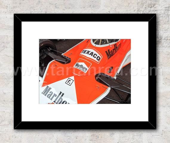 James Hunt McLaren Cosworth M23 Racing Car, Photo / Print, Wall Art