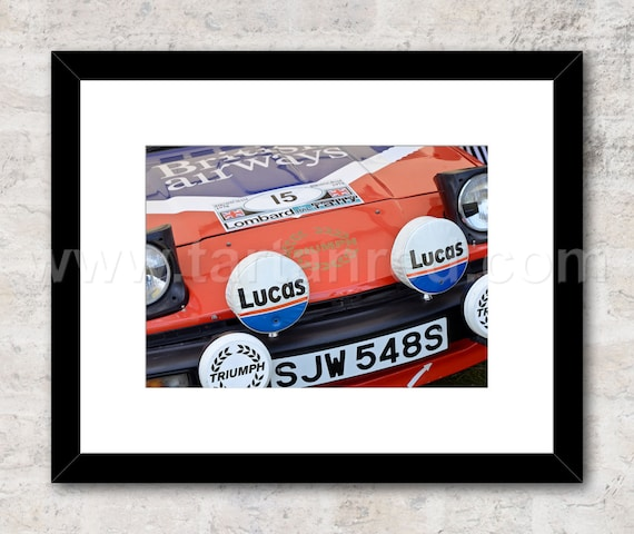 A3 Ford Escort MK2 Rothmans World Rally Car Wall Poster Art Picture Print