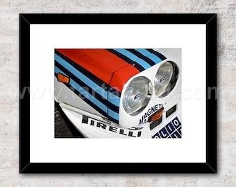 Lancia Delta S4, Group B Rally Car, Photo / Print, Wall Art