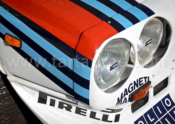 Lancia Delta S4 Group B Rally Car, A2 or A1 Fine Art Giclee Canvas Print from Original Photograph by Marcus Pomfret