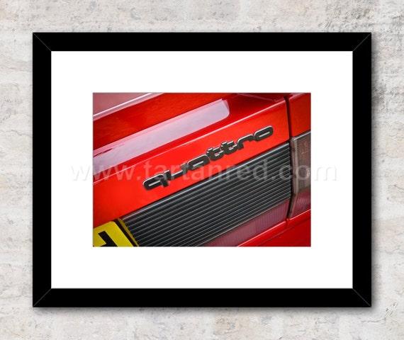 Audi Quattro, 1980s, Photo / Print, Wall Art