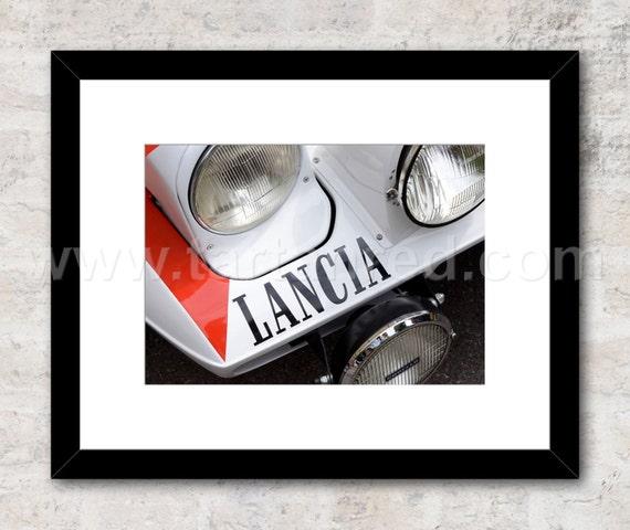 Lancia Stratos Marlboro Group 4 Rally Car, Photo / Print, Wall Art