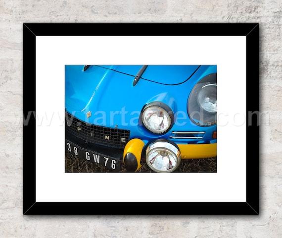 Renault Alpine A110 Rally Car Photo / Print / Wall Art