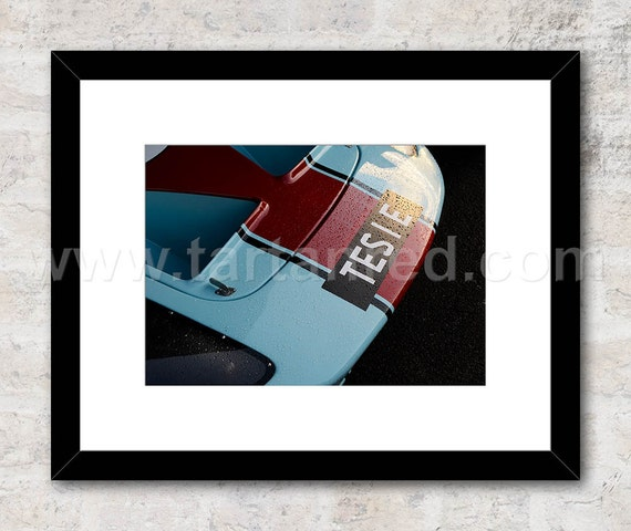 Ford GT40, Le Mans, 1965 Photo / Print, Wall Art