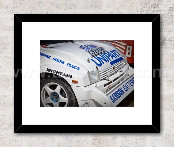 MG Metro 6R4 Group B Rally Photo / Print, Wall Art
