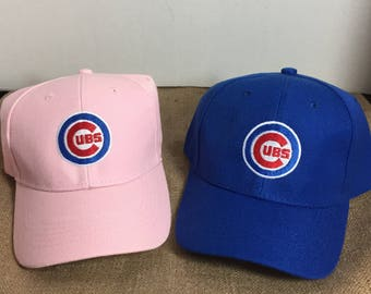 4449c63f8 Chicago Cubs Youth baseball Hat, Baseball cap with Cubs insignia, Childs  Baseball Cap, Cubs Kids Baseball Cap, , Childs Cubs Hat, Structured