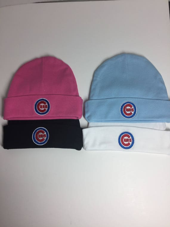 Chicago Cubs Infant knit hat Chicago Cubs Baby Stocking Hat  7c6603e4293