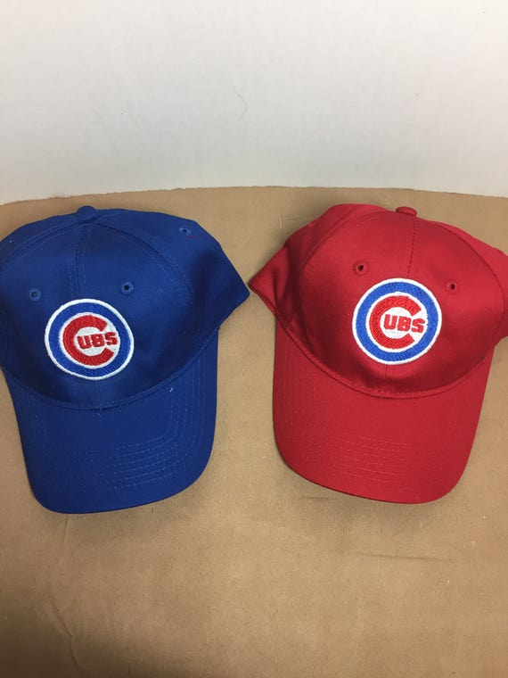 Chicago Cubs Youth baseball Hat Baseball cap with Cubs  d9d1e874366