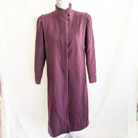 Montello Macintosh Trench Coat 4 Petite Purple