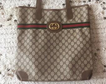8da7c6a47ed36 Gucci tote bag | Etsy