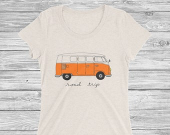 8f363d032 Road Trip T-Shirt / Womens Road trip Shirt / Cute Road Trip Tee / Shirt for Road  Trip / Vacation Shirt Girls Road Trip Tee