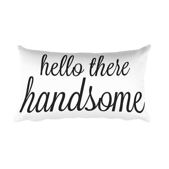 Wunderschönen Guten Morgen Hallo Dort Schöne Kissen 20 X 12 Home Decor Hochzeitsgeschenk Handmade Neue Geschenk Zu Hause