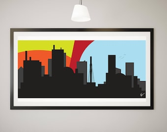 This City Skyline Digital Download