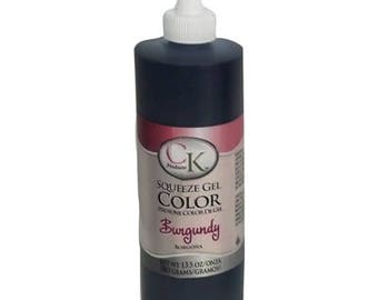 Burgundy Gel Color  13.5 oz