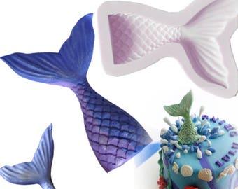 Mermaid Tail Mold